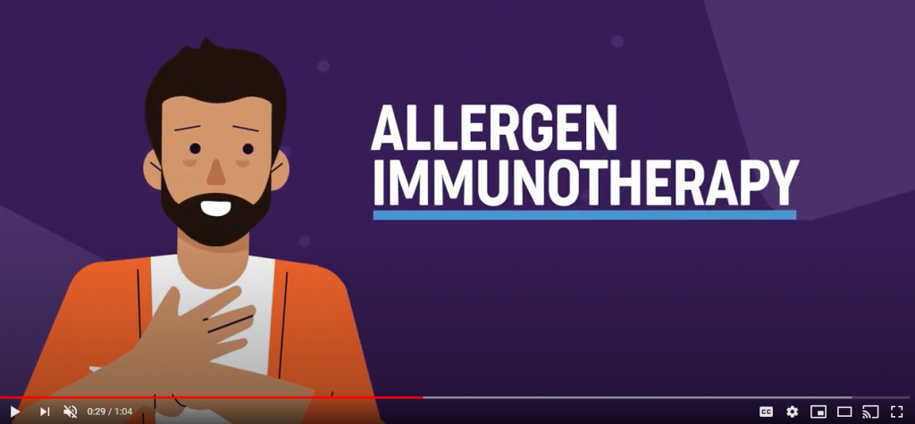 Immunotherapy for asthma