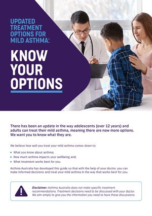 Know your options mild asthma